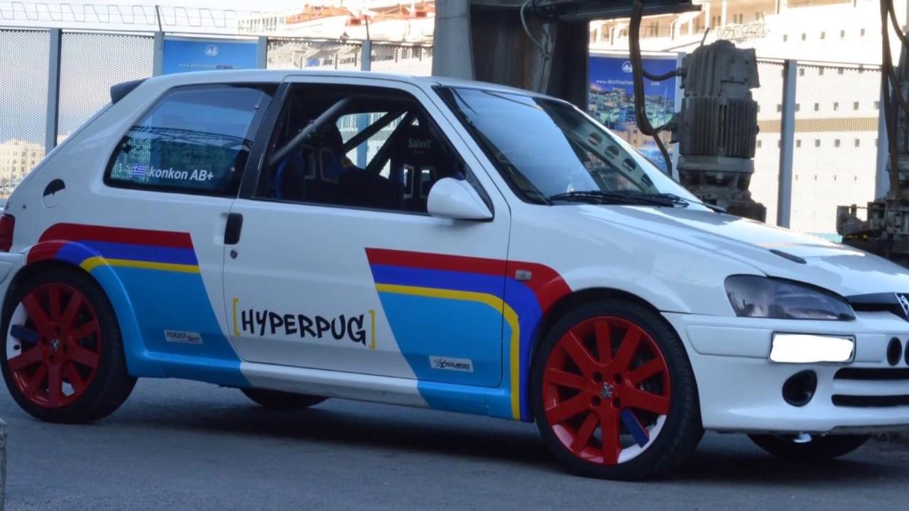Megara Racing Circuit Peugeot 106 @konkon Track Car HTTC 05/03/17 ...
