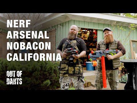 Nerf Arsenal: NoBaCon Workshop Tour