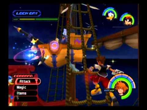 Kingdom Hearts Playthrough - Part 100, White Trinity Marks (Neverland, Halloween Town)