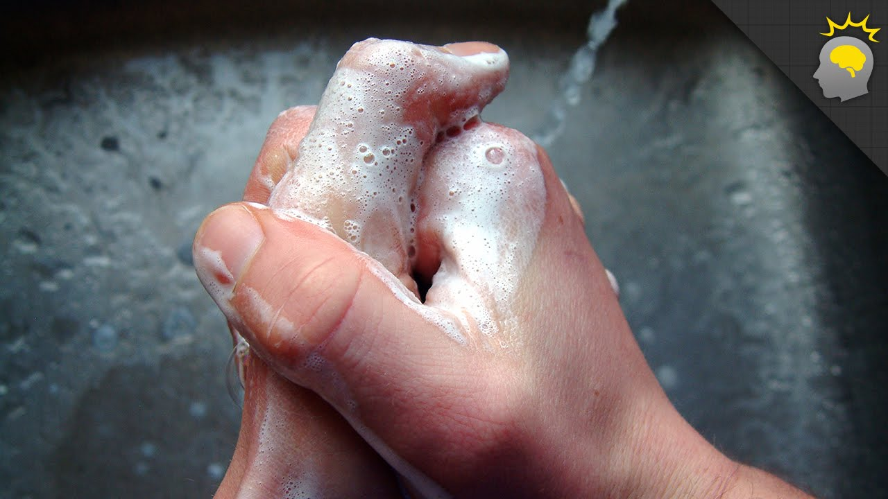 Can you wash your hands too much science on the web 84