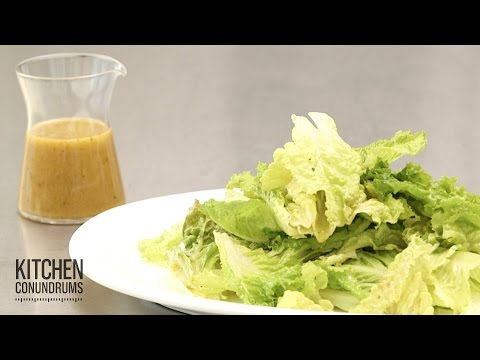 How to Make a Tangy Vinaigrette Kitchen Conundrums with Thomas Joseph
