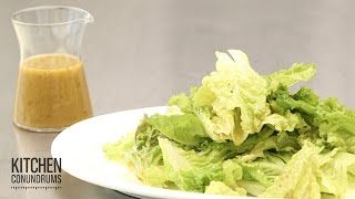How To Make A Tangy Vinaigrette - Kitchen Conundrums With Thomas Joseph