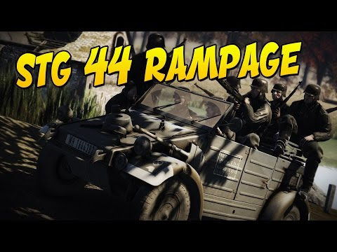 STG 44 RAMPAGE - Heroes and Generals Gameplay