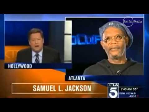 Samuel L Jackson's black actor rant at TV reporter 'I'm not Laurence Fishburne