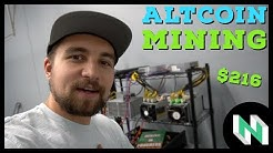 Is Altcoin ASIC Mining Profitable? 21 days of crypto mining profits!