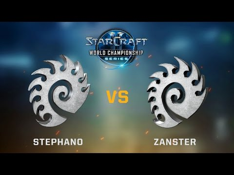 StarCraft 2 - Stephano vs. Zanster (ZvZ) - Ro8 Qual Matches - WCS Austin Challenger EU Qualifier #2