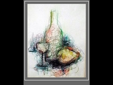A FUN ;-) Professional Watercolor & drawing tutorial 4 Beginners.