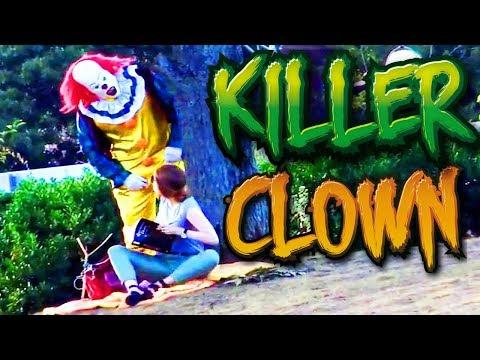 Killer Clown Halloween Prank