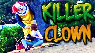 Pennywise In Real Life Killer Clown Halloween Prank