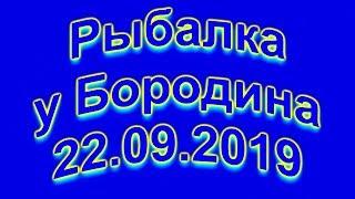 Рыбалка у Бородина 22 09 2019 4K