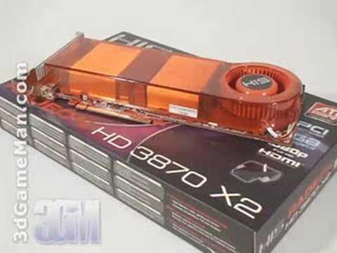 #920 - HIS HD 3870 X2 1GB GDDR3 Video Card Video Review