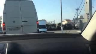 видео Очередь на границе Россия(Белгород) - Украина(Харьков)