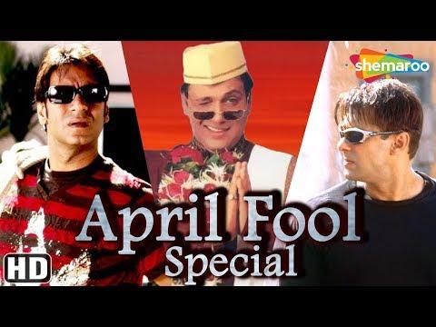 April Fool Special [HD] Bollywood Comedy Scenes - Salman Khan | Ajay Devgan | Govinda | Amitabh