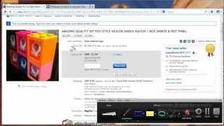 Урок 4. Как покупать на eBay и что такое Дропшипинг.