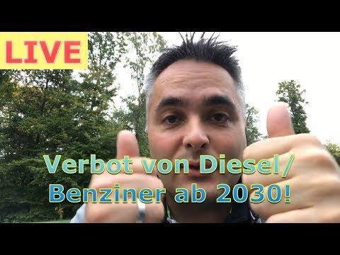 Live: Dauerhafte Verbote von Paris & Niederlande für Diesel/Benzin PKW ab 2030 verändern alles!