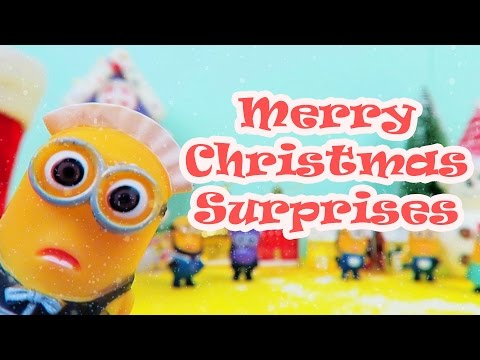 MINIONS Christmas Surprise Santa Boots | Christmas Songs for Children