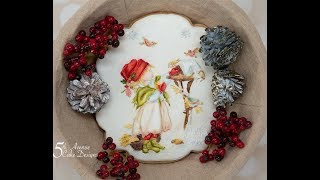 Feeding the Winter Birds A Christmas Cookie