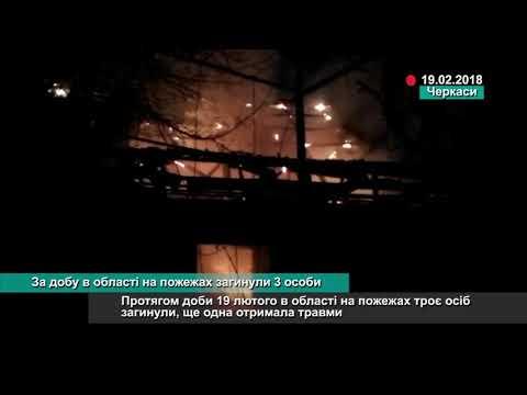 Телеканал АНТЕНА: За добу в області на пожежах загинули 3 особи