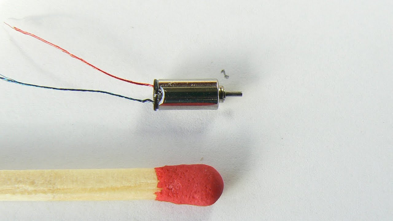 Micro Electric Motor Inside The Smallest Ever To Buy