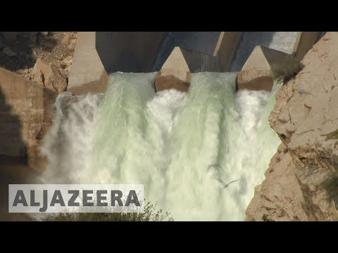 Iran-Iraq quake damages Iraq's Diyala River dam