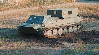 МТЛБ. Багатоцільовий транспортер (тягач) легкий броньований.
