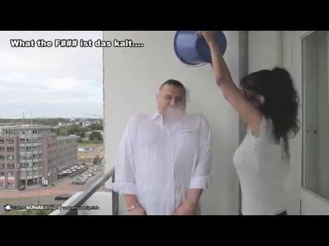 Thorsten Schulz Ice Bucket Challenge - Kalte Dusche im Kampf gegen ALS