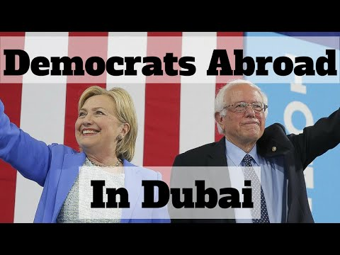 Come With Me To  The Democrats Abroad Meeting In Dubai