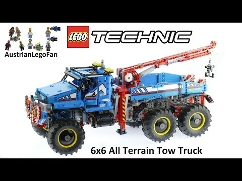 Lego Technic 42070 6x6 All Terrain Tow Truck - Lego Speed Bu