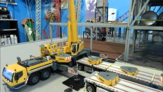 Liebherr LTM 1350-6.1 assembly