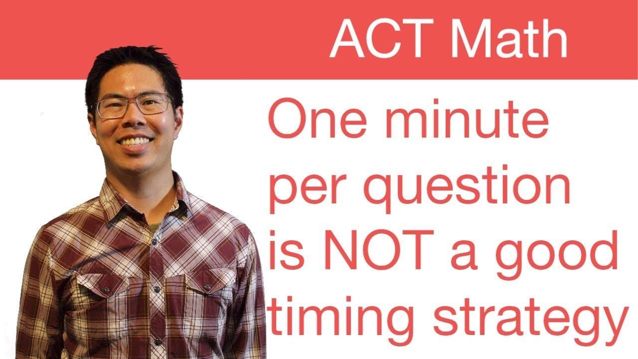 Tips On Raising ACT Score?