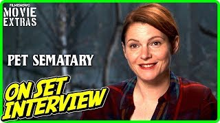 "PET SEMATARY | On-set Interview with Amy Seimetz ""Rachel Creed"""