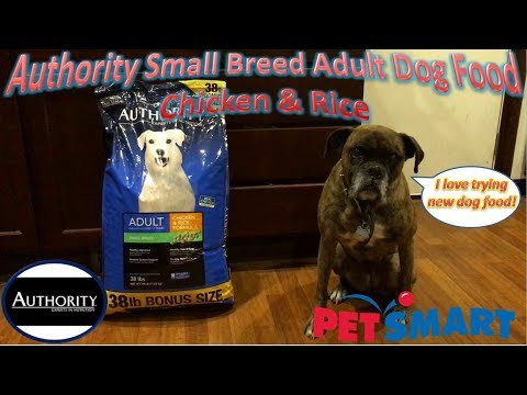 Authority Small Breed Chicken Rice Dog Food Rating