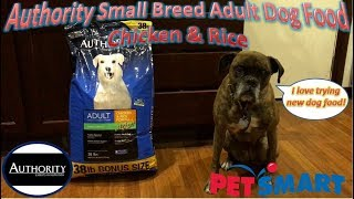 Authority Small Breed Adult Dog Food Chicken & Rice