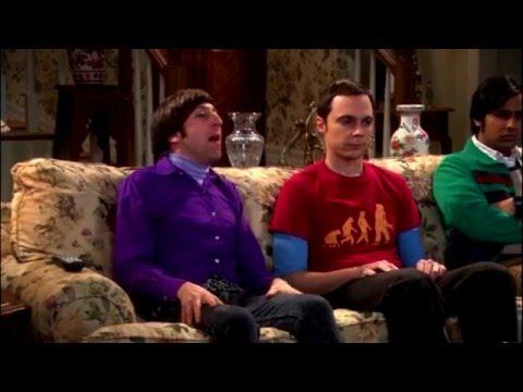 Теория Большого Взрыва-Миссис Воловиц,все моменты(1часть)