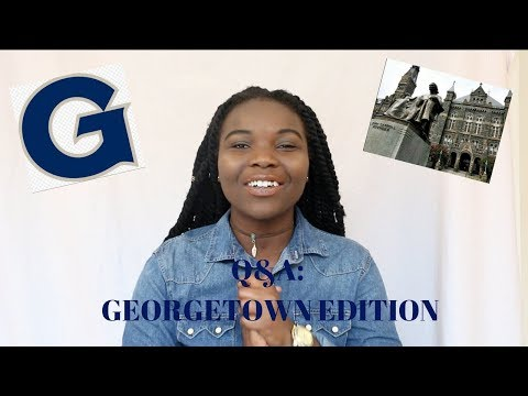 Q&A: Georgetown University!!