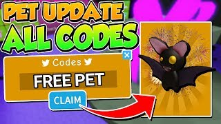 30+ PET UPDATE HALLOWEEN CODES IN SABER SIMULATOR (Roblox)
