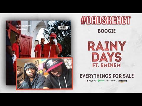 DADS REACT   BOOGIE FT EMINEM x RAINY DAYS   BAR HEAVY !!   REACTION AND BREAKDOWN