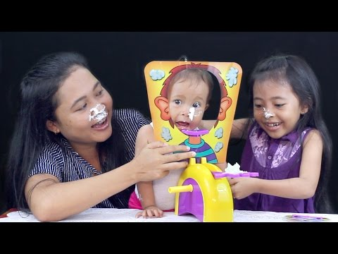 Pie face challenge game indonesia - little princess shinta