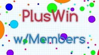 agar io pluswin gameplay 36k w members