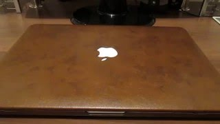 видео Кожаные чехлы для Мacbook air