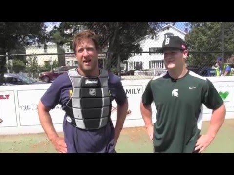 El Pres Goalie Challenge vs Torey Krug