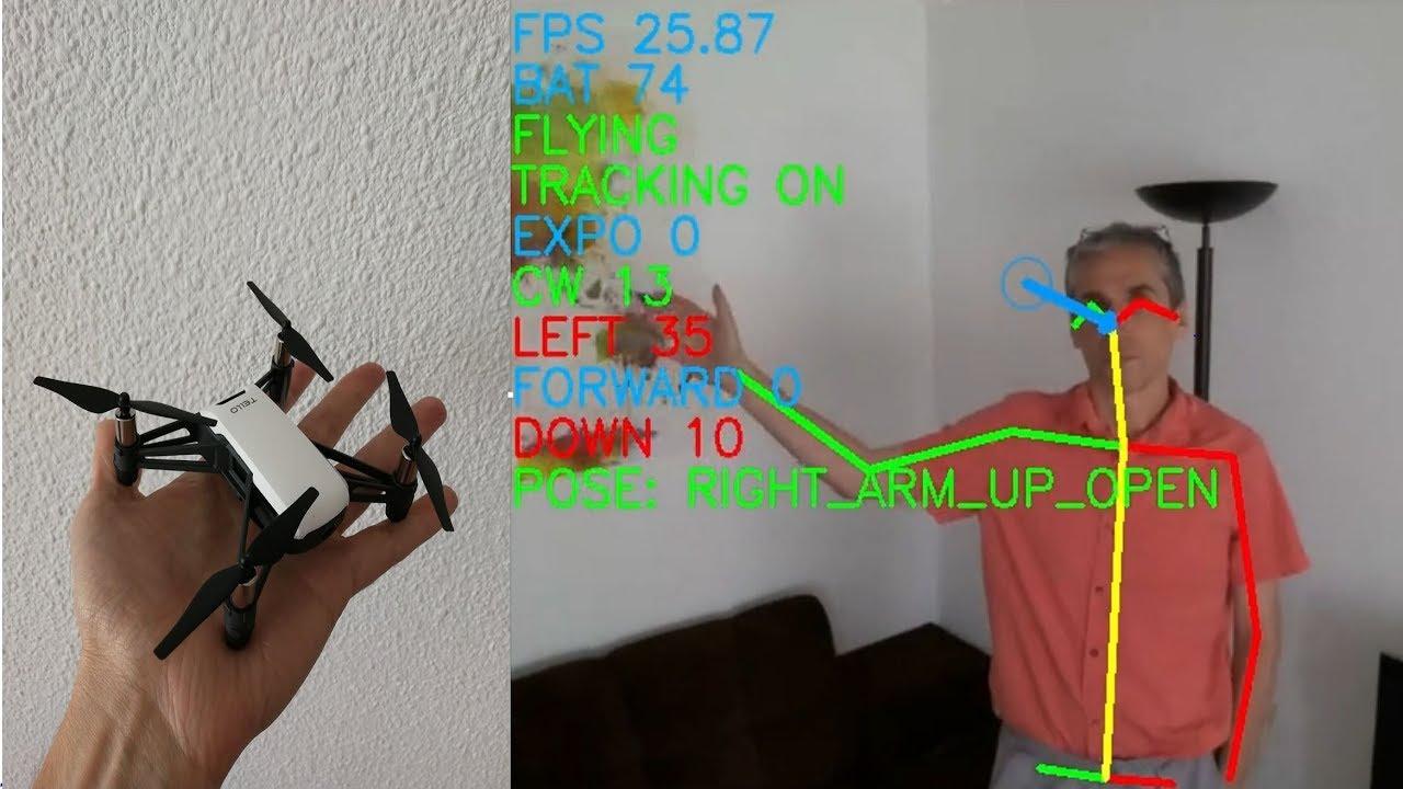 Applying computer vision techniques to Tello   DJI Tello
