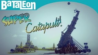 Besiege - Super Catapult! (mega Distance)
