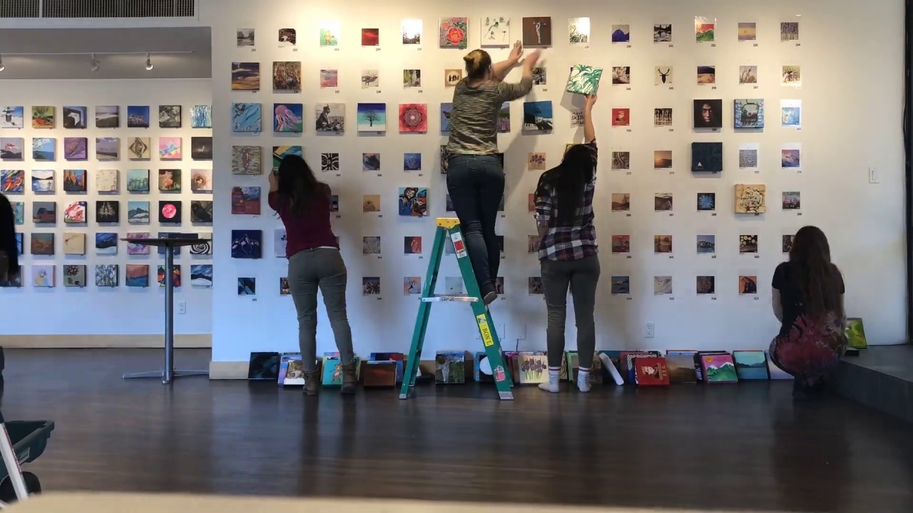 Anonymous Art Show 2019: 370 pieces of art! 200+ artists!