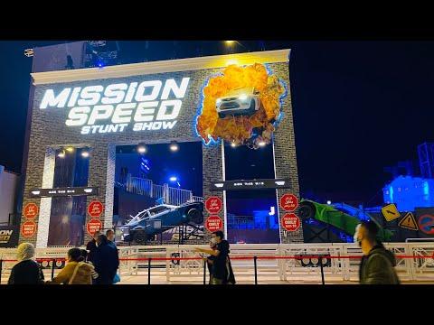 Mission speed stunt show Dubai
