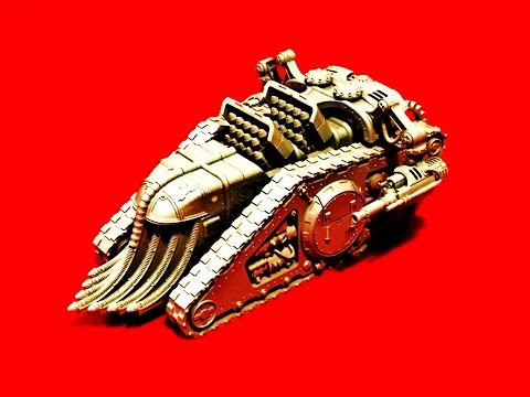 Mechanicum Karacnos Assault Tank: Model, Build and Tactics Review (Horus Heresy)