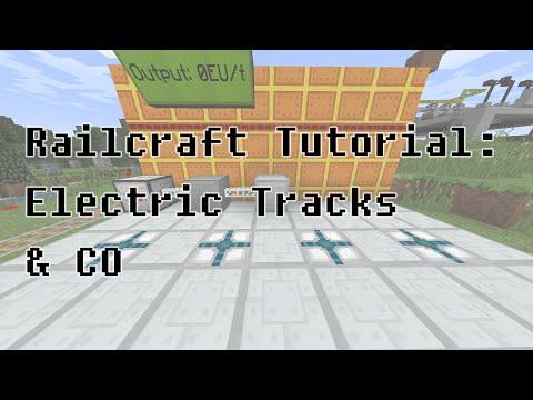 Railcraft Tutorial: Electric Tracks & CO