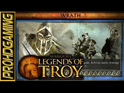 Warriors: Legends of Troy I Wrath of Achilles I Full Mission I Expert Difficulty HD