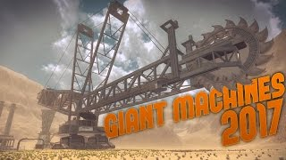 Giant Machines 2017 - Mountain Excavation & Huge Dump Trucks! - Giant Machines 2017 Gameplay