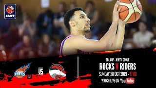 2019-20 BBL Cup, North Group: Radisson Red Glasgow Rocks v Leicester Riders - 20 Oct 2019